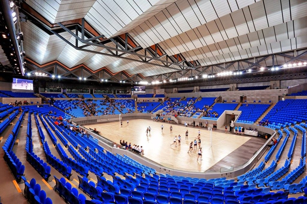 Melbourne S Margaret Court Arena Operable Roof Closes In