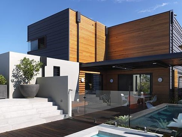 The Clovelly prefab house by Prebuilt was featured on Grand Designs  Australia.