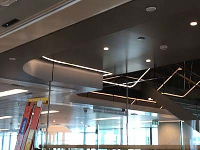 Firemaster fire curtains ensure fire protection within design