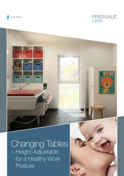 Nursing Tables from Pressalit Care