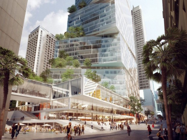 3XN's Quay Quarter Tower. Image: supplied