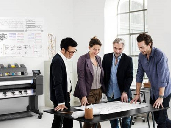 HP's new DesignJet portfolio is simplifying how AEC professionals print, scan and copy from the office to the construction site