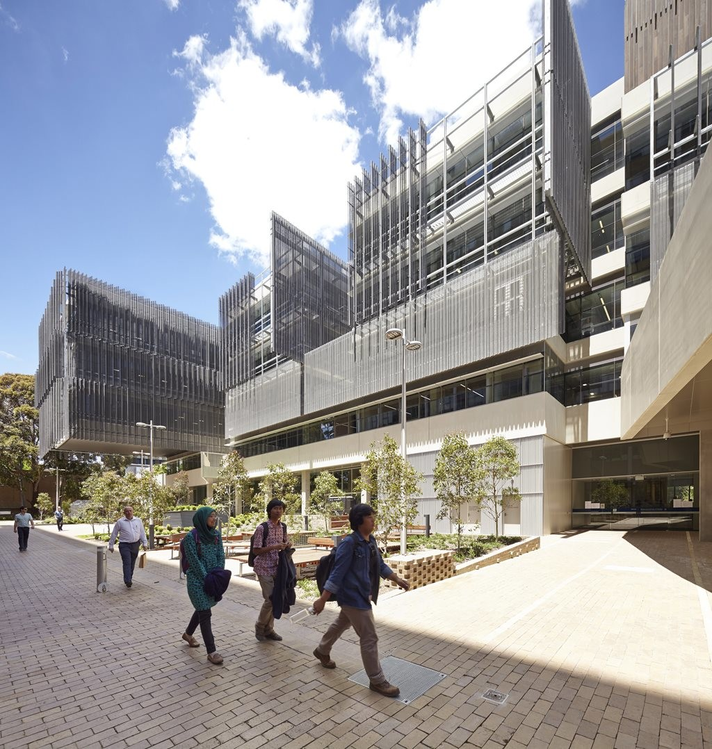 Melbourne school of design by john wardle architects and for Architects melbourne