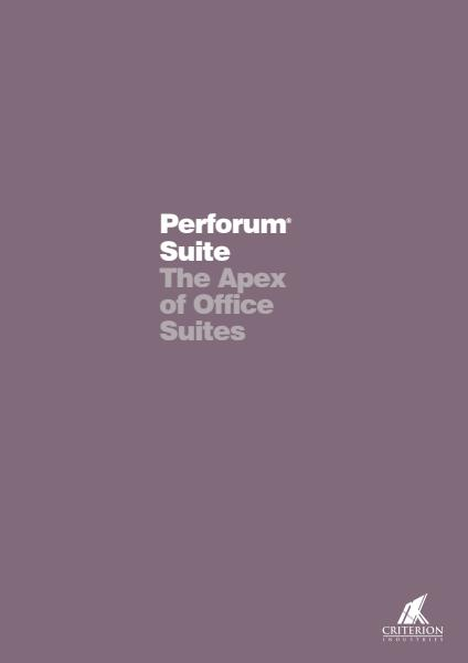Perforum Suite Brochure