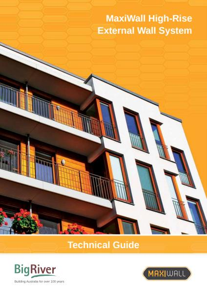 Big River Group Maxiwall High-Rise Technical Guide - External