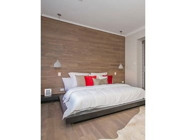 Laminate And Timber Flooring On Walls Ceiling Architecture Design