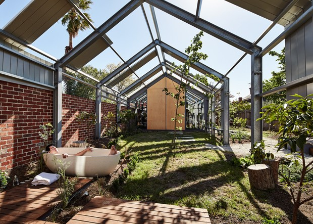 Exposed Steel Home Andrew Maynard Melsteel