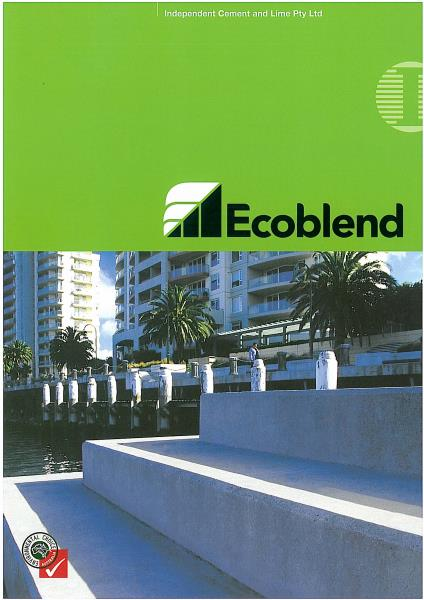 Ecoblend Cements Product Brochure