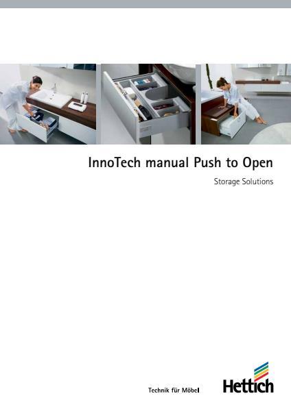 InnoTech manual Push to Open