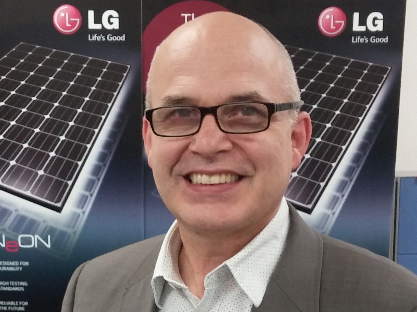 According to LG general manager Solar & Energy Markus Lambert, the time is now to think and design for a sun-powered future. Image: Supplied.