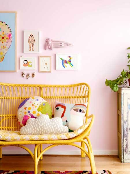 Cherish: Styling by Madeline Stamer; Chair by The Family Love Tree