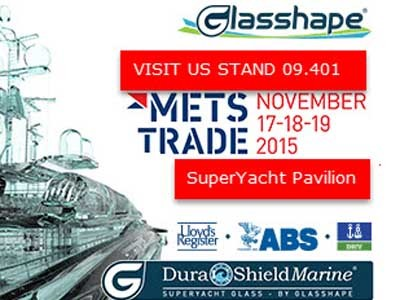 Glasshape® will be announcing a new range of products at the Amsterdam trade show