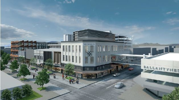 Plans for largest private post earthquake development for for Christchurch architecture firms