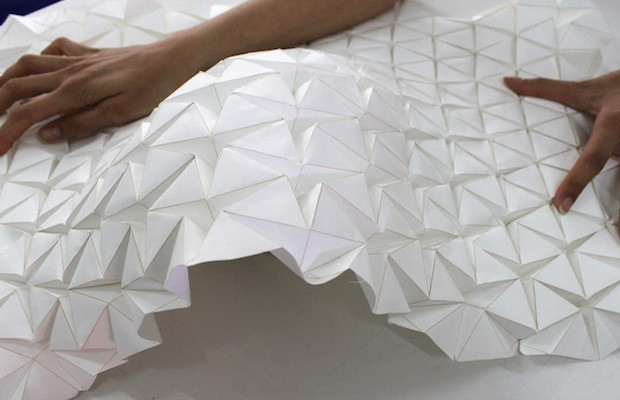 Students Develop Shape Shifting Architectural Prototype