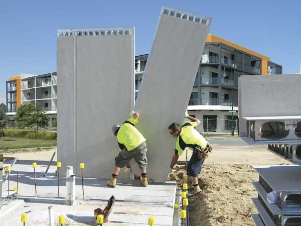 AFS's LOGICWALL is a permanent formwork system for concrete walling