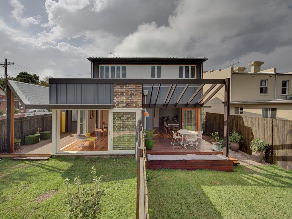The Missing Middle Design Competition will include three medium density types including terrace housing like 3 Houses Marrickville by David Boyle Architect. Photography by Brett Boardman