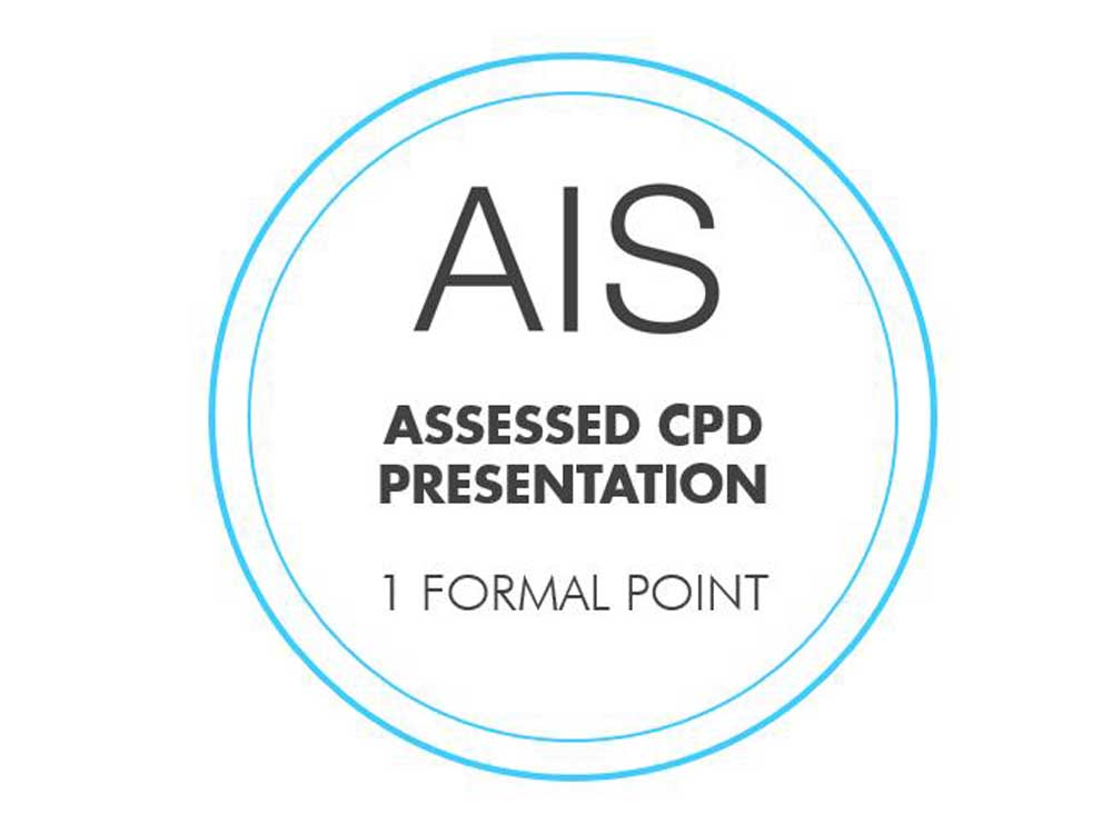All of Galvin's presentations have been assessed by AIS