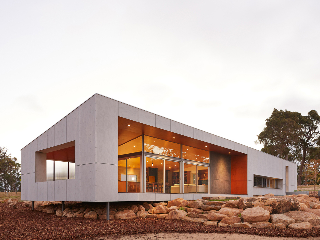 The sustainable rural home designed to frame nature views | Architecture & Design