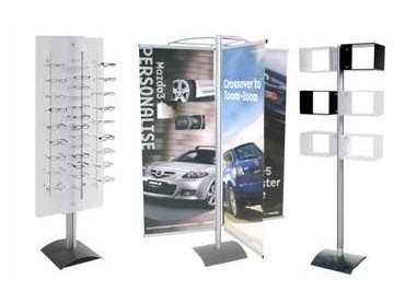 Event Post Free Standing Point Of Sale Display Systems From