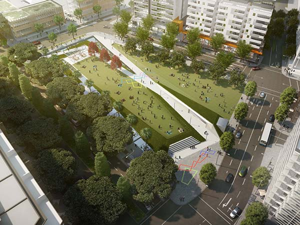 Sydney's Green Square to get new sustainable parklands