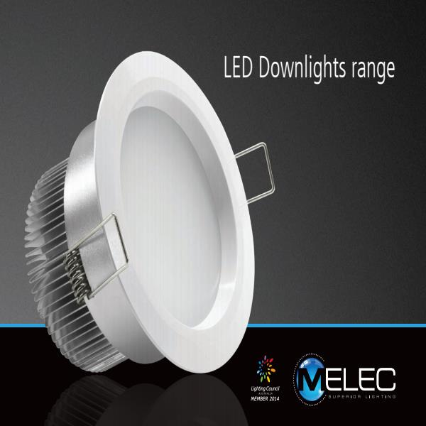 M-Elec LED Downlights brochure