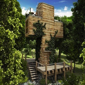 Cross Shaped Micro House Offers Off Grid Hideaway