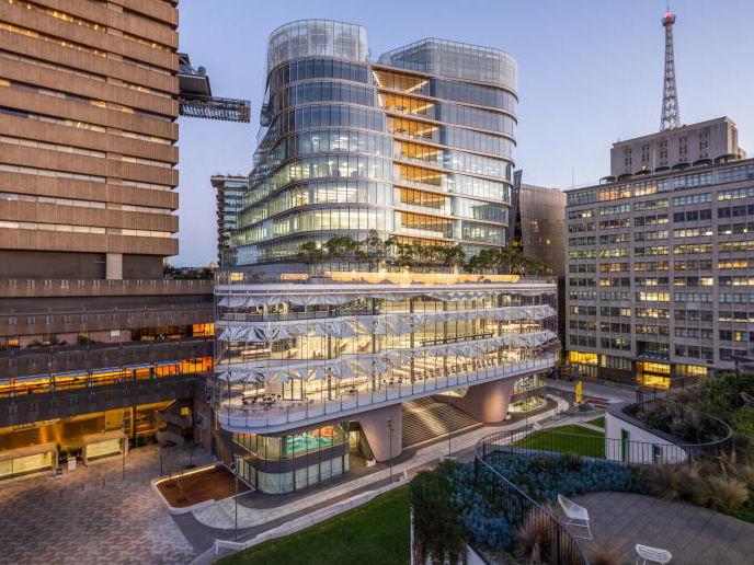 New Fjmt Designed Uts Building Opens To Public