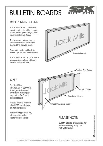 Bulletin Board- How it works