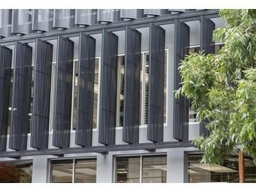 Shutterflex Perforated Aluminium Ellipse Fins Reinvents