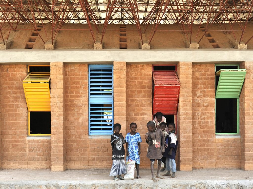 Gando Primary School Extension; Gando, Burkina Faso, 2008 © Erik Jan Ouwerkerk