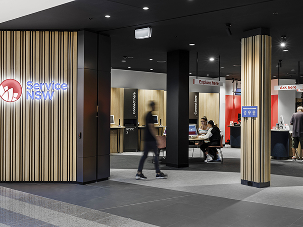 Warren and Mahoney redesigns Service NSW branches