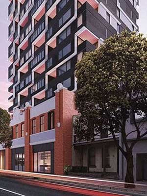 LevantaPark supplied a customised parking solution for the new Bond Quarter residential development on Melbourne's Spencer Street