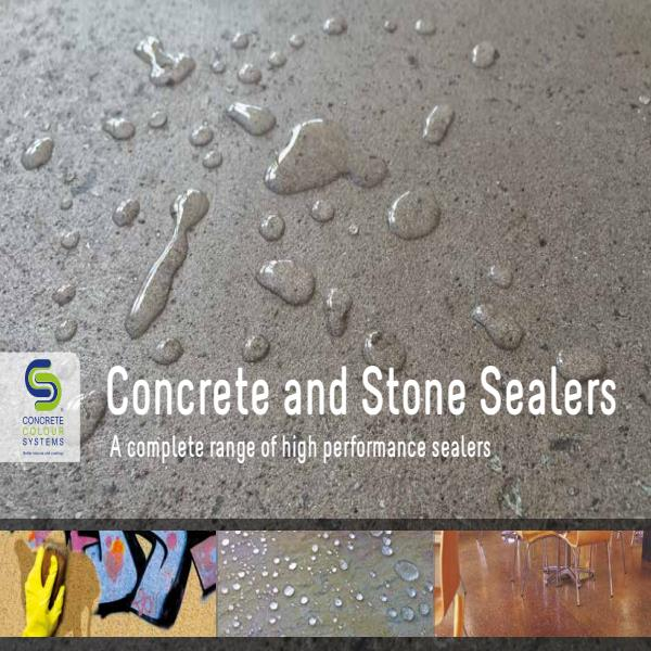 CCS Concrete and Stone Sealers brochure