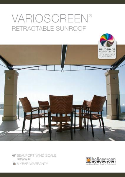 Varioscreen Retractable Sunroof