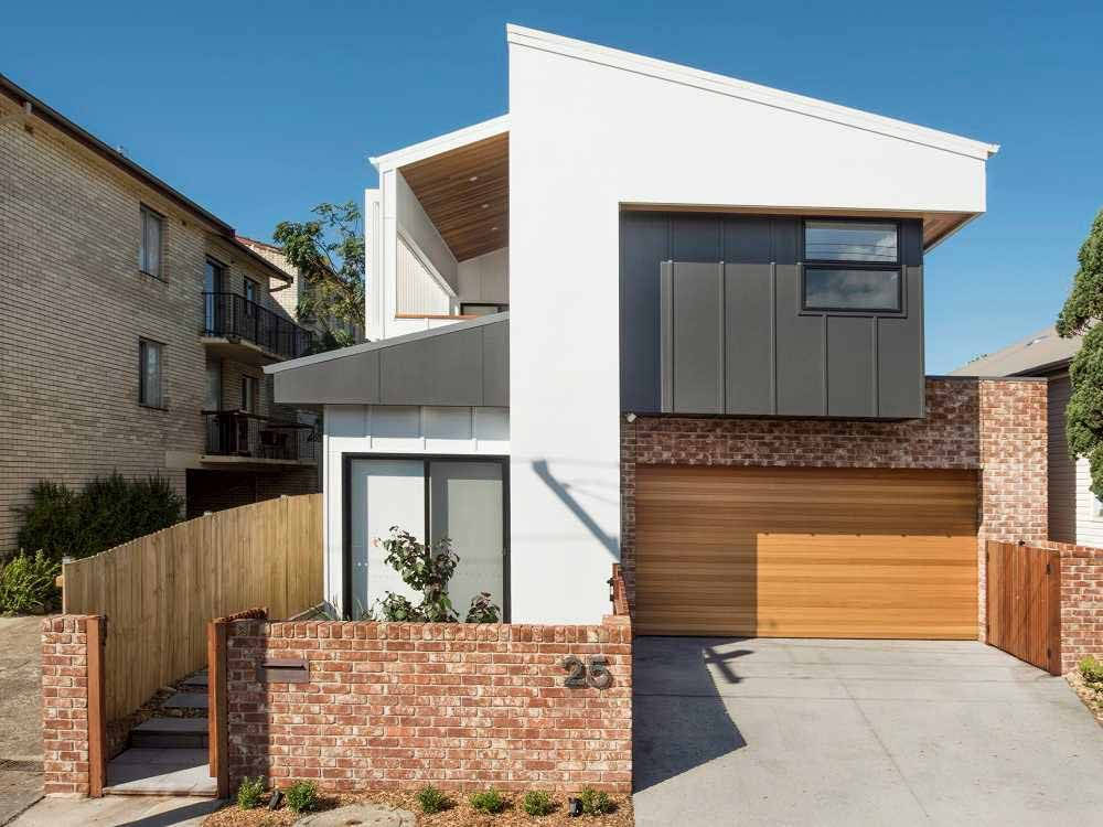 Balmain Sandstock bricks Merewether home exterior