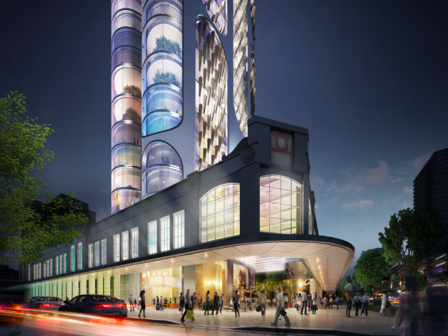 GroupGSA and Rafael de la Hoz's winning proposal for 197 Church Street in Parramatta. Image: GroupGSA