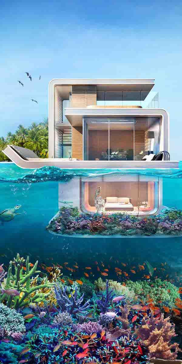 , Architecture de maison flottante: 5 incroyables maisons flottantes