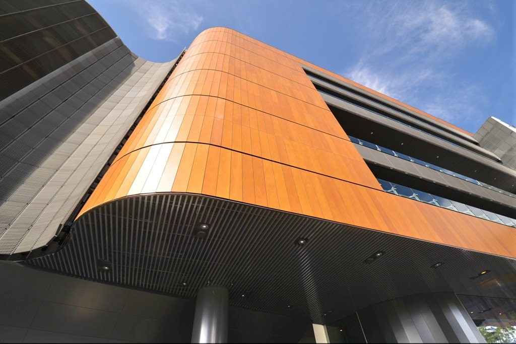 Multiple Supawood Products Used Throughout Sydney Sporting