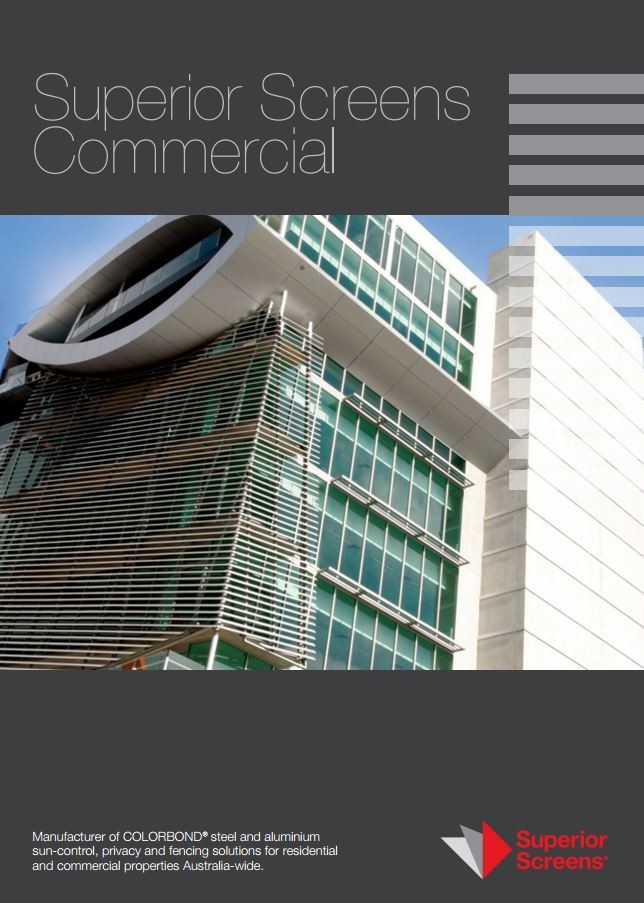 Colorbond 174 Steel And Aluminium Slatting Louvres