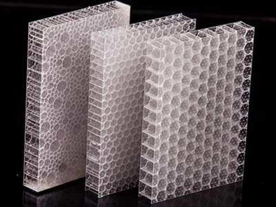 Transparent Acoustic Panels For Versatile Architectural