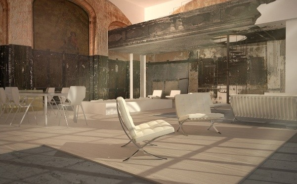 australian firm lava scores historic refurb in berlin. Black Bedroom Furniture Sets. Home Design Ideas