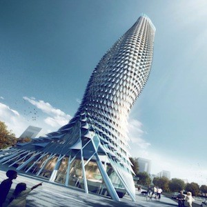 Fish Shaped Observation Tower Designed For China S Riviera