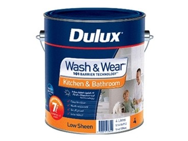 Dulux Wash & Wear Kitchen & Bathroom Low Sheen -  51A-04912