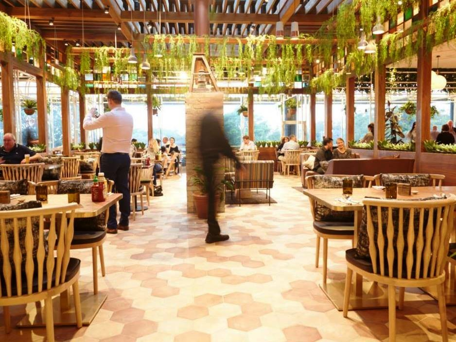 The recently opened The Garden at Wests Ashfield Leagues Club seats 500 in a space festooned with pot plants and will likely rival the club's yum cha