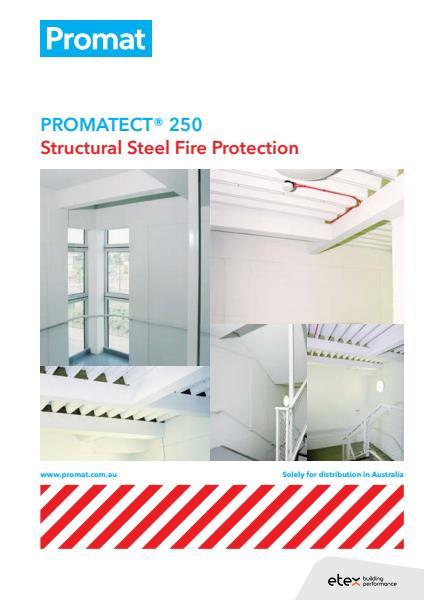 PROMATECT® 250 Structural Steel Fire Protection