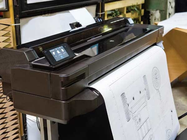 The reliable connectivity of the HP DesignJet ePrinter makes it the perfect tool for distributed workflows