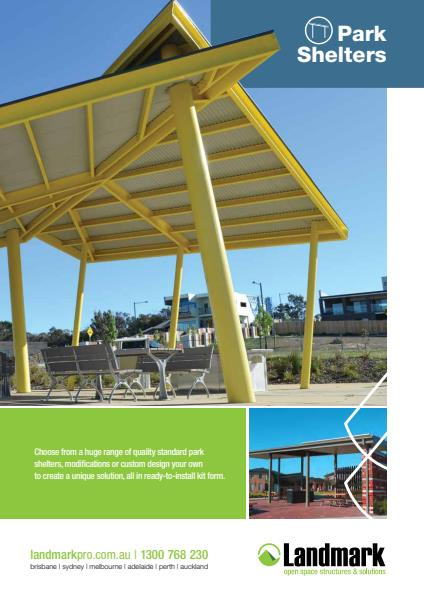 Park Shelters Catalogue