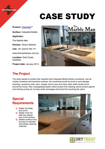 Vitremela Case Study - The Marble Men