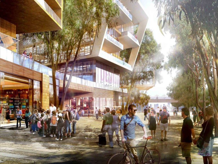 Barangaroo Central will incorporate a mix of residential, retail and commercial components, along with three hectares of public space. Image: Barangaroo