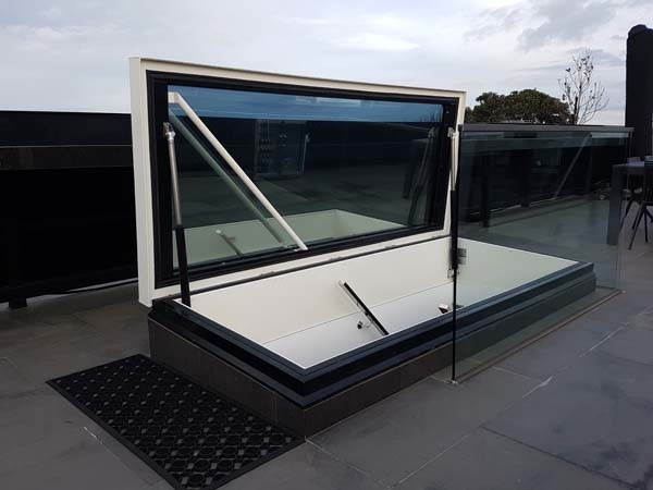 Gorter glazed roof hatch